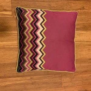 Missoni for Target pillow